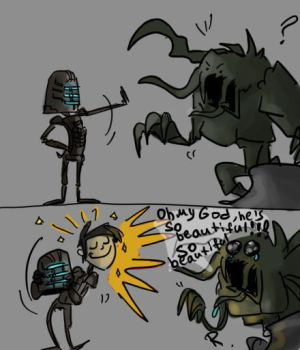 Dead Space by Ayej