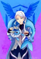Blanche - Team Mystic by Vulgar1sm