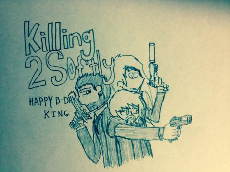 kt2s - Happy b-day king by TheRocketterGhost