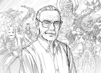 RIP Stan Lee by phil-cho