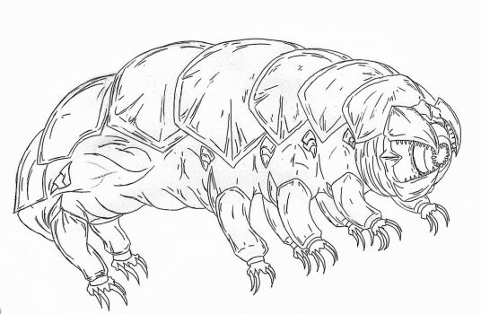 Kaiju: Indestructible [ The Water Bear] by Cyprus-1