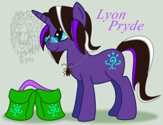 Lyon Pryde- MLP OC by TheBig-ChillQueen