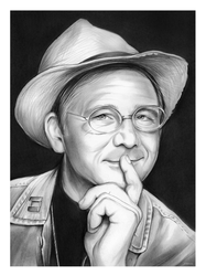William Christopher - Sketch of the Day by gregchapin
