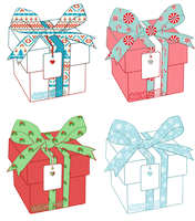 Christmas Mystery Boxes - Closed by halcyondrop