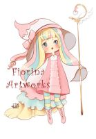 ~ Chibi Candy Witch ~ Christmas Commissions ~ by Fiorina-Artworks