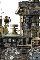 BATTLE CRAWLER CUTAWAY detail by studio-octavio