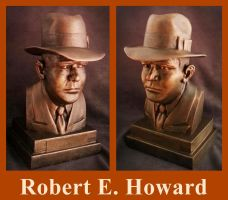 Robert E. Howard by zombiequadrille