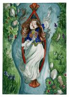 Alas for the Lady of Shalott by emera