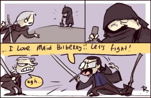 The Witcher 3, doodles 158 by Ayej