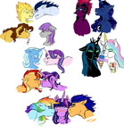 Fleet Of Ships by CaptainLoafNugget