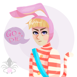 Popee the Performer Feat. My Unrelenting Art Block by Squid-Goddess