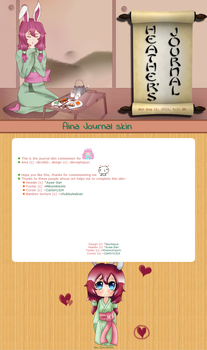 Com: Aina - Journal skin by Squitopus