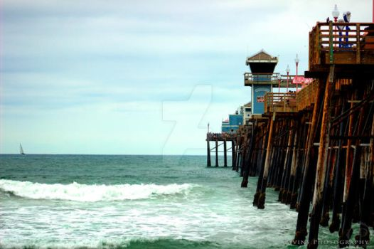Oceanside Pier by BivinsPhotography