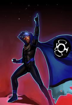 The Ultimate Blue Lantern by morganagod