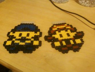 Mangaquest shipping perler by Tibby-san