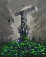 The monument by Saarl