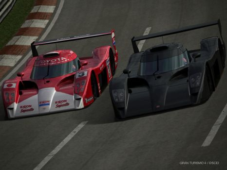 Toyota GT-One by GamePonySly