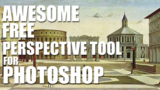 Awesome FREE Perspective Tool For Photoshop by pixelstains
