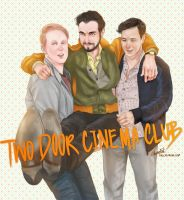 TWO DOOR CINEMA CLUB by l3earFat