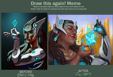Draw this again- Symmetra by Mainframe110