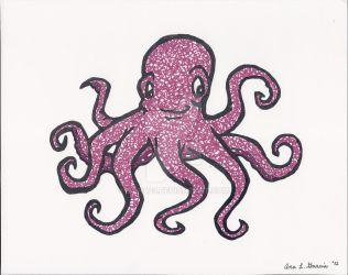 Octopus Scribble by bana23