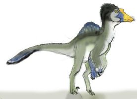 JURASSIC MONTH- Spinoraptor by Taliesaurus