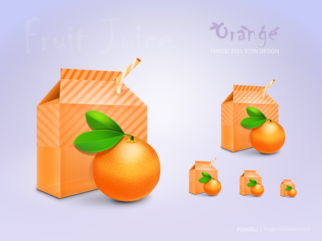Orange Icon by fengsj