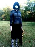 Me as 'Doll', Halloween 2011 -- 4 by JennieDoomsday
