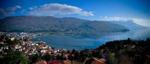 Ohrid panorama by dianora