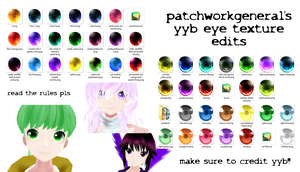 YYB Eye Texture Edits +DL by patchworkgeneral