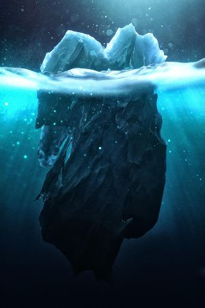 Caustic Icebergs - 06 by ChaoticAtmospheres