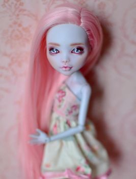 Lagoona Blue - OOAK Custom Monster High doll by Katalin89