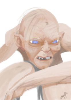 Gollum preview by wishmask