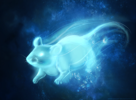 mouse Patronus by Maonii