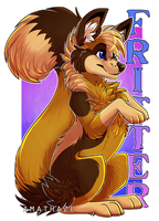 Fritter badge by Citriel
