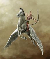 Pegasus Archer. by sonofangron