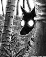 Forest Peeker by AlfaFilly