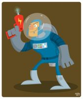 Astronaut by striffle