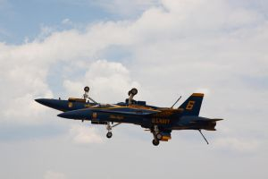 Blue Angels - High Speed Pass by ladynightseduction