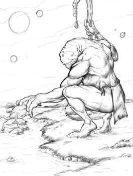 Monster Monday Volume 2 Sketch No.6 by Comicbookist