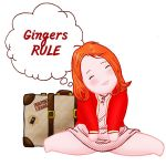 Amelia Pond GINGERS RULE by Asaph