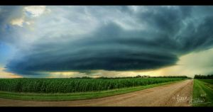 Supercell Panorama III by FramedByNature