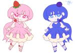 Strawberry Cheesecake and Blueberry Cheesecake by tulip5366