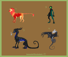 Mixed Creature Adopts 51 [CLOSED] by Adopt-Monstar