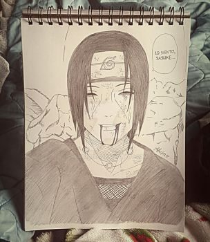 Itachi drawing by Cherry0189