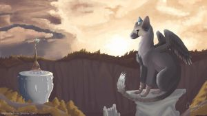 Trico. The Last Guardian art. by ChiChoose