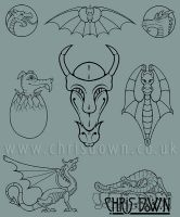 Selection of Dragons by Dysis23A