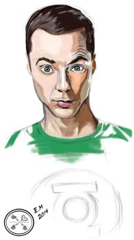 Sheldon by EstherMenendez