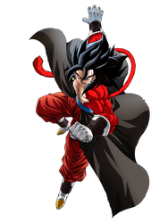 Vegetto Xeno SS4 Render by Ifan95