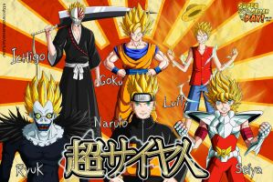 Super Saiyan Day by orco05